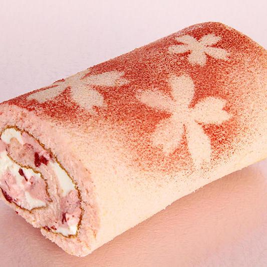 季節のロール 「桜ロール」